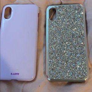 2 iPhone 10 cases